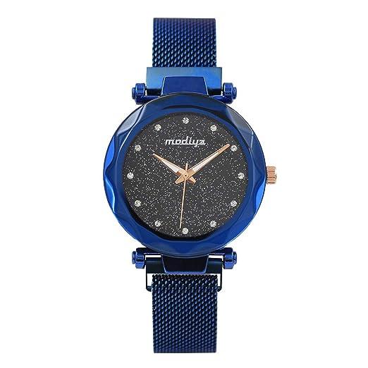 Reloj de Cuarzo,BBestseller Reloj de Pulsera de Mujer Cinturón de Malla Moda Pulsera Actividad