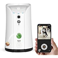 SKYMEE Dog Camera Treat Dispenser,WiFi Remote Pet Camera with Two-Way Audio and Night…