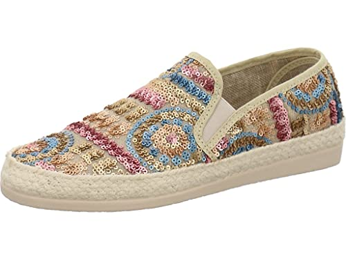 Humat 0703-141 - Mocasines de Tela Para Mujer, Color, Talla 36: Amazon.es: Zapatos y complementos