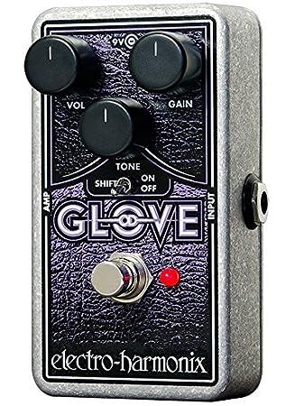 electro-harmonix ODGLOVE - Pedal de distorsión para guitarra, color plateado: Amazon.es: Instrumentos musicales