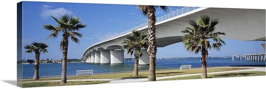 Bridge Poster Panorama John Ringling Causeway Sarasota Florida Fine Art Print