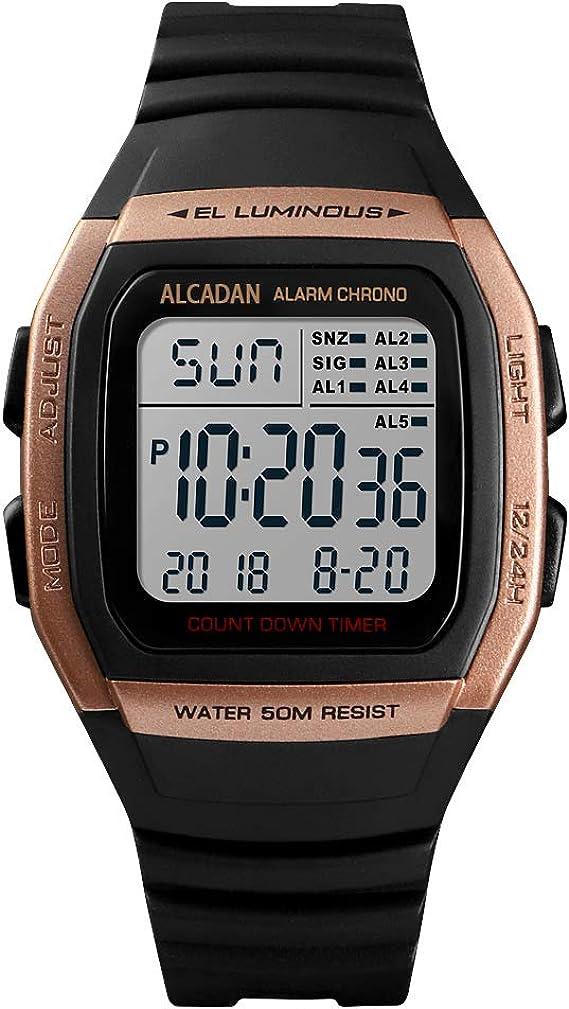 Alcadan 1278 - Reloj Digital para Deportes al Aire Libre ...