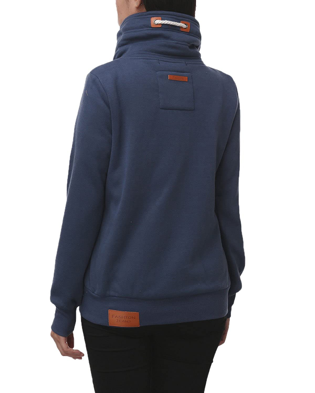 Auxo Casual Pullover Drawstring Sweatshirt Image 2