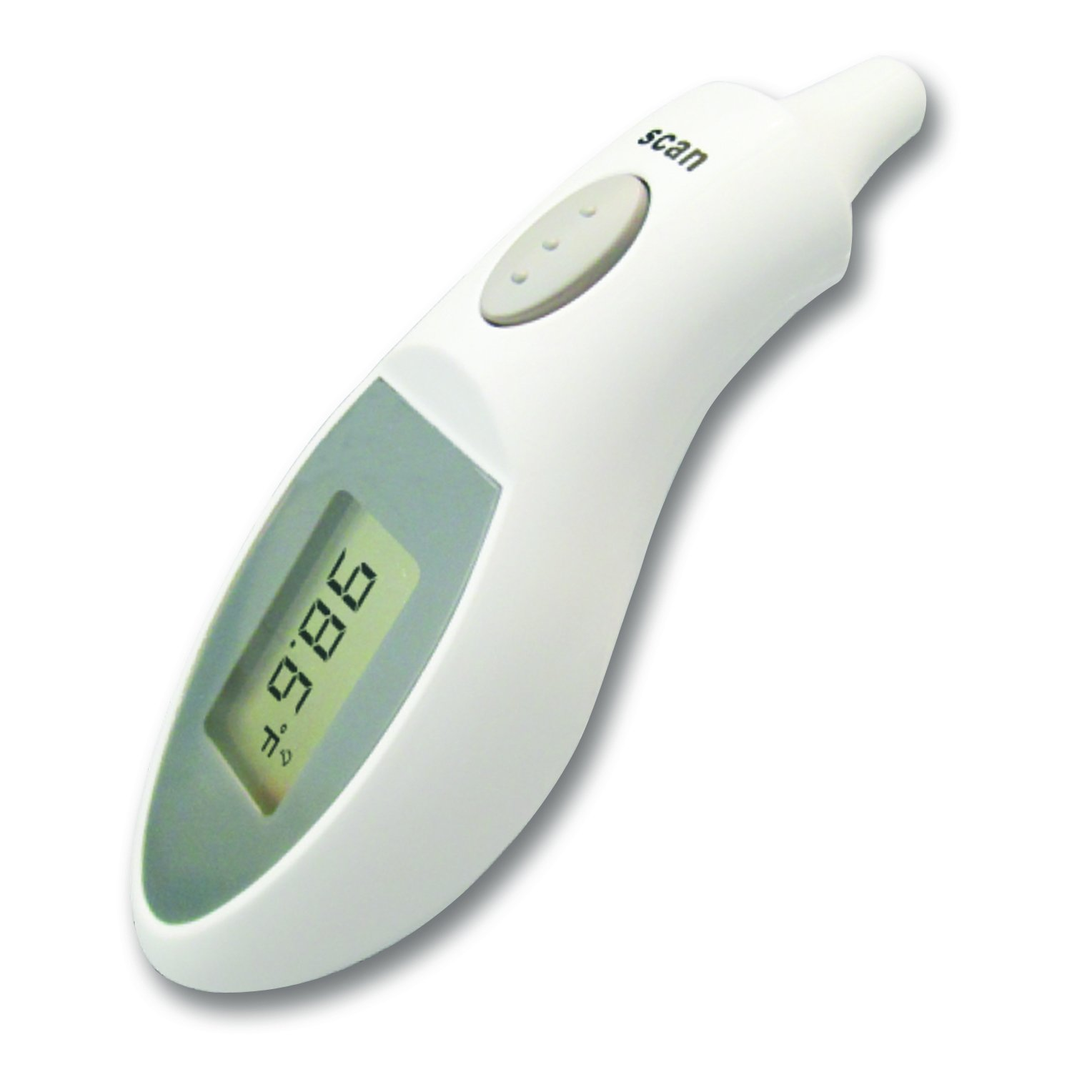 Dynarex Infrared Ear Thermometer (Individually Boxed) 10/Cs