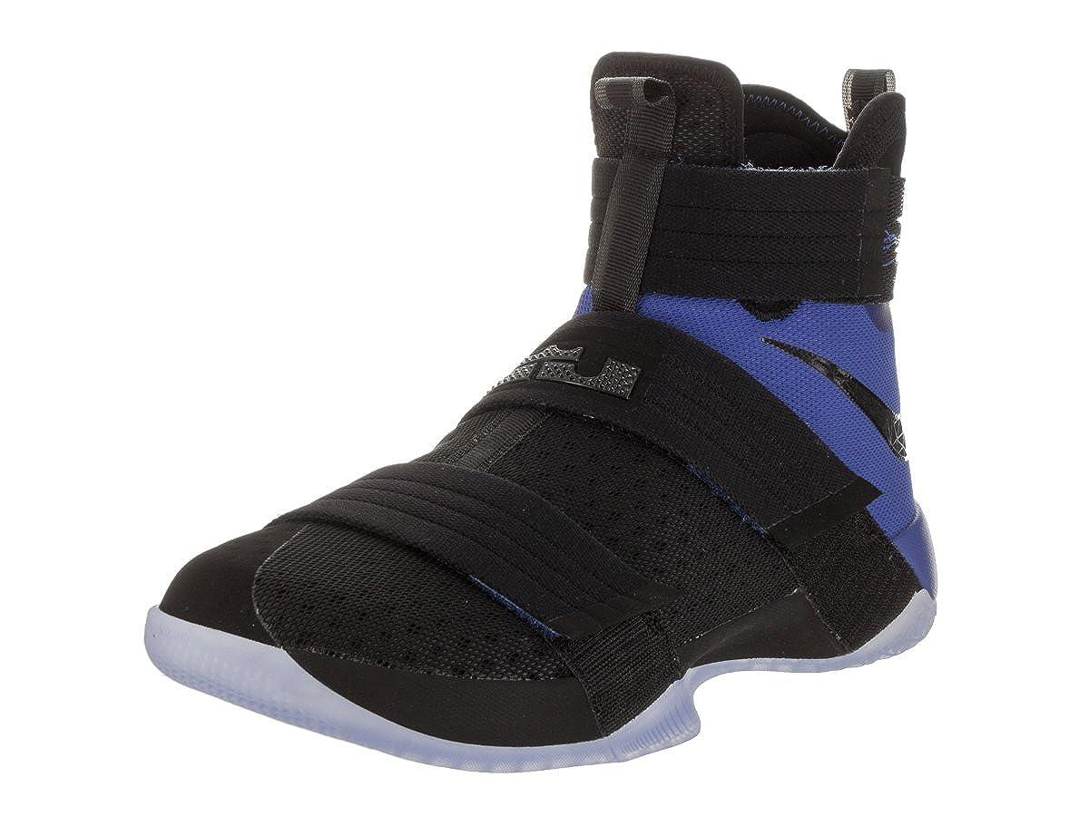NIKE Air Zoom Lebron X 10 SFG Basketballschuhe Hallenschuhe Turnschuhe schwarz blau 844378-004