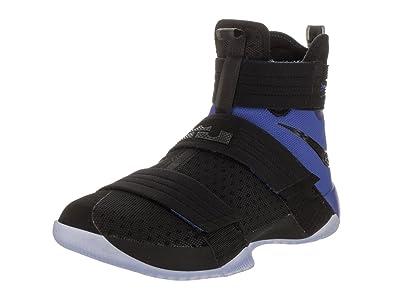 NIKE Lebron Soldier 10 SFG Men Basketball Shoes New Black Game Royal - 9.5