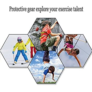 Amazon.com : CJC 21 Holes Adjustable Helmet Butterfly Protector (Kneepad Elbow Guard Hand) Child Adult Roller Skating Bicycle Extreme Sport : Sports & ...