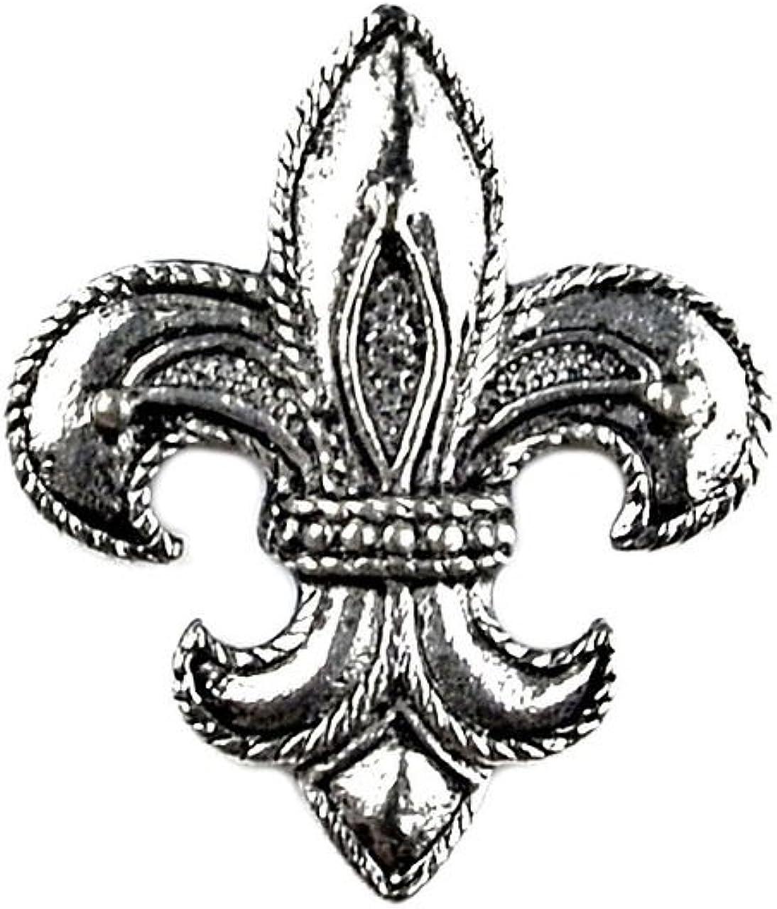 Quality Handcrafts Guaranteed Fleur de Lis Lapel Pin