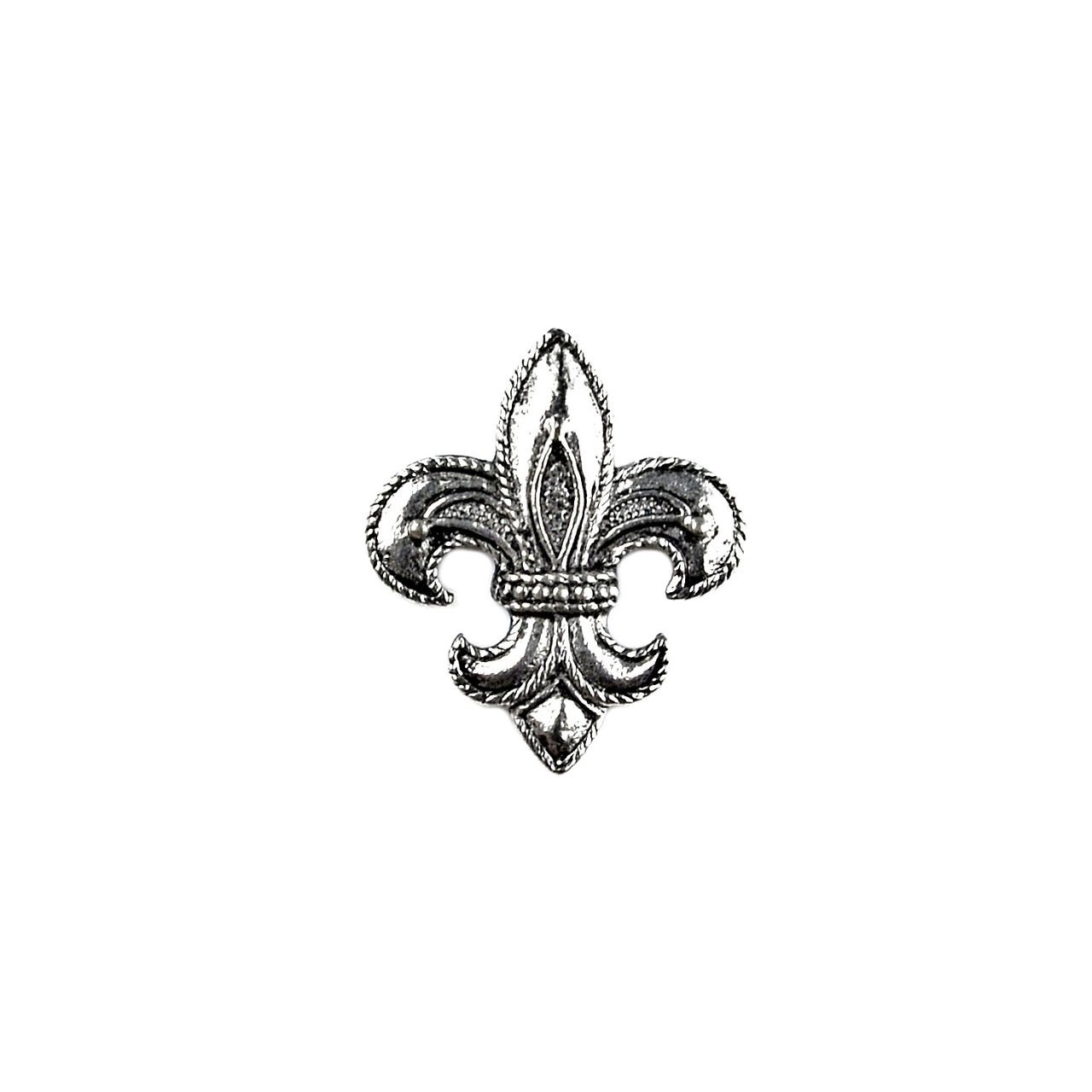Quality Handcrafts Guaranteed Fleur de Lis Lapel Pin