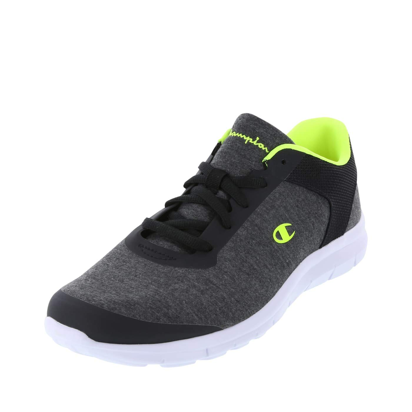 Champion Grey Jersey Lime Men's Gusto Performance Cross Trainer 13 Regular by Champion