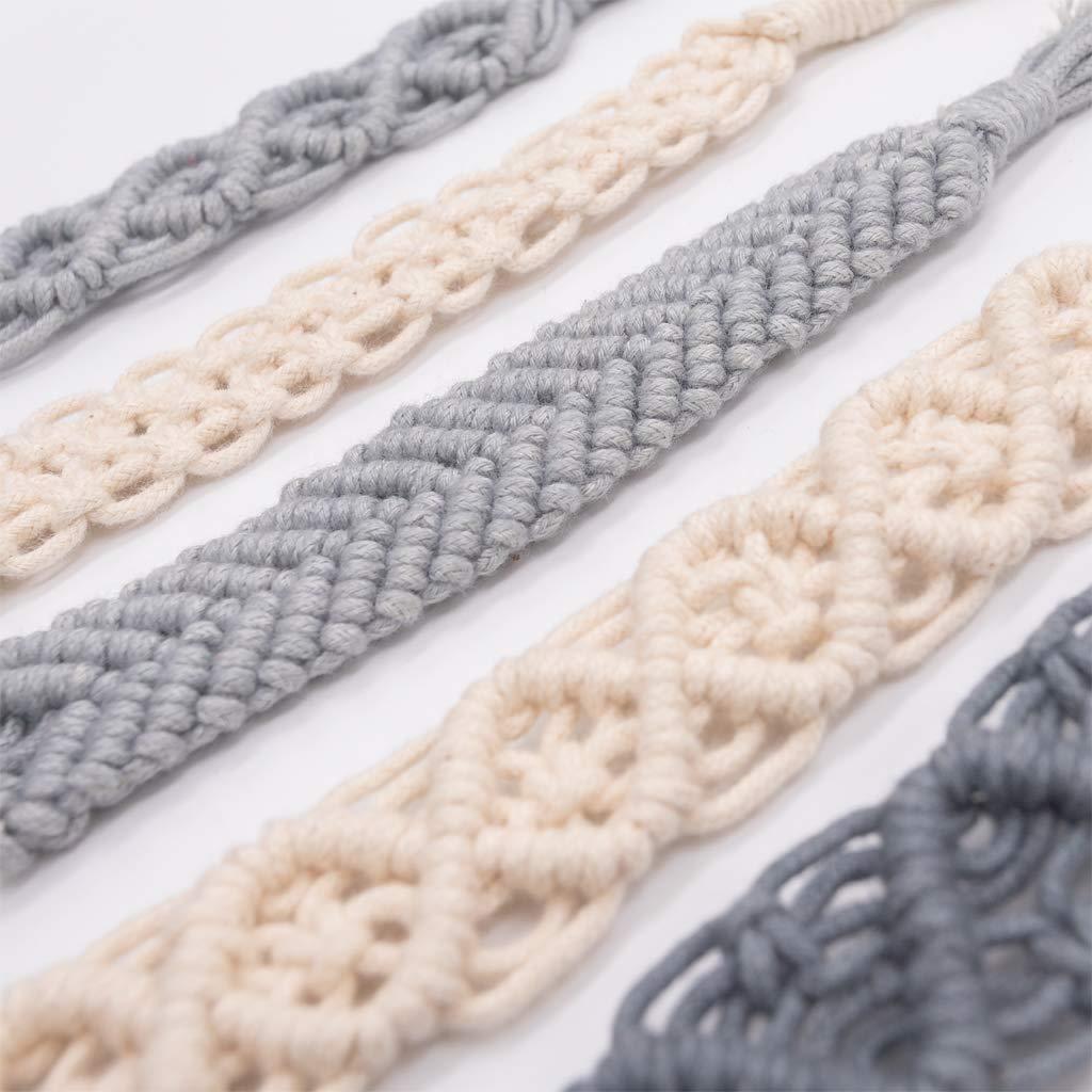 Lamdoo Vendimia Simple Crochet Chupete Clip Bebé de Algodón ...