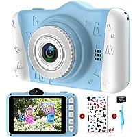 Camara Fotos Infantil - Cámara Fotos Niños con Pantalla Grande de 3,5 Pulgadas 1080P HD 12MP Incorporada Tarjeta SD de…