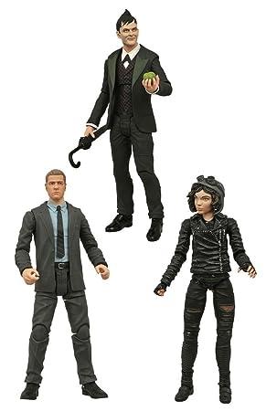 "Jim Gordon /& The Penguin Gotham 7/"" Actions Figures Complete Set Selina Kyle"