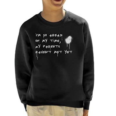 Coto7 Big L Freestyle with Jay Z Lyrics Kid's Sweatshirt