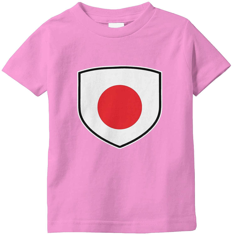 Amdesco Japan Shield Japanese Flag Infant T-Shirt
