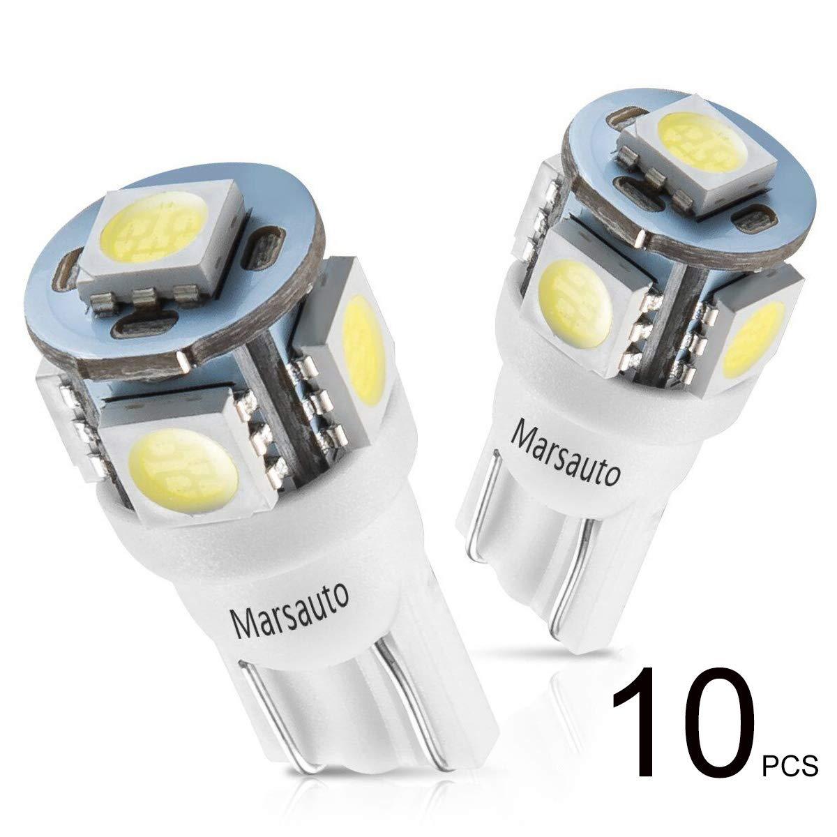 Bombilla de luz LED 6000K 12V-DC para autos (pack x 10) xsr