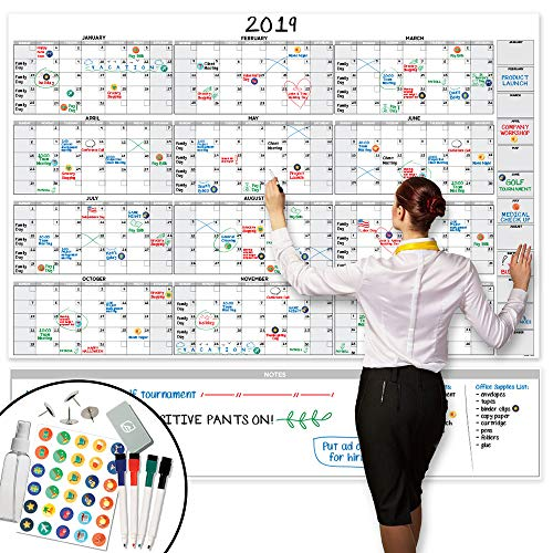 Planner Erasable (Large Dry Erase Wall Calendar - 58