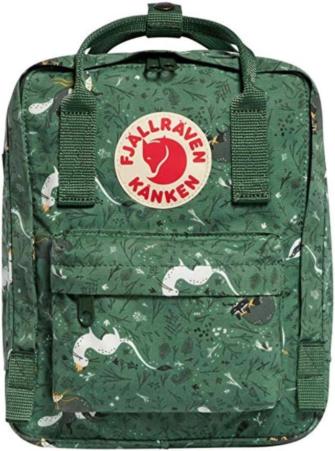 Backpack Mochila Top Sell Swedish Fox Classic Fashion Style Fjallraven – Kanken High School Lona Sports 16 L – Verde Bosque