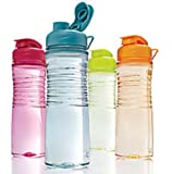 Rubbermaid Refill, Reuse 20-Ounce Hydration Chug Bottle, 4 pack …