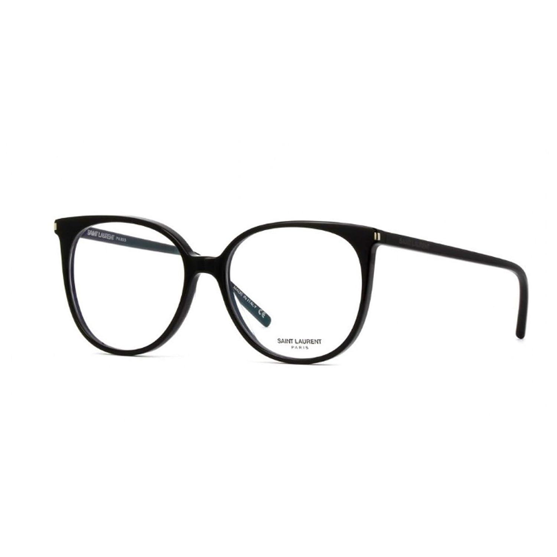 Amazon.com: anteojos Saint Laurent SL 39 001 negro/negro ...
