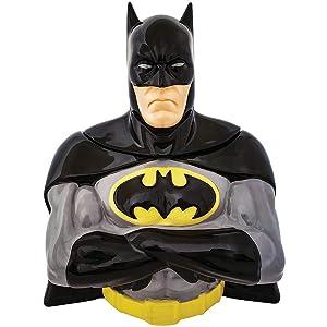 Batman Sculpted Ceramic 3D Figural Cookie Jar 21025