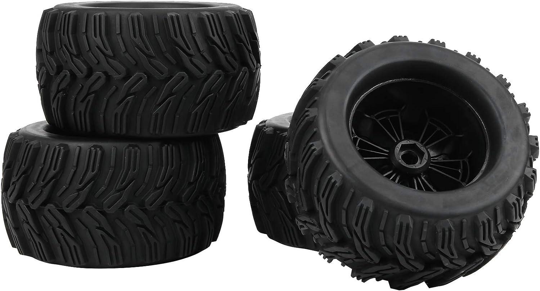 Bigking Neumático RC, 4Pcs 1/8 RC Coche Llantas de Goma ...
