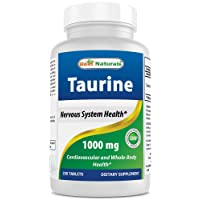 Best Naturals Taurine 1000 Mg Tablet, 250 Count