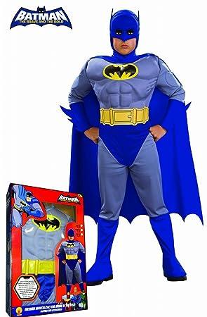 Rubies`s - Disfraz infantil de Batman Musculoso B&B en caja (884526-L)