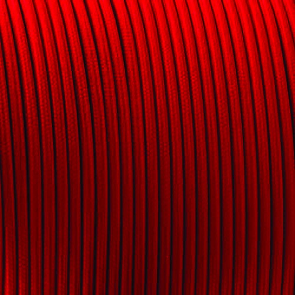 5 m cable el/éctrico Cable de luz de tela trenzada de color vintage de 2 n/úcleos de 5//10 m blanco y negro