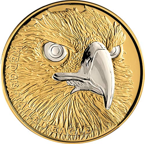 2019 NU Wildlife Up Close PowerCoin WEDGE TAILED EAGLE 1 Oz Gold Coin 100$ Niue 2019 Proof