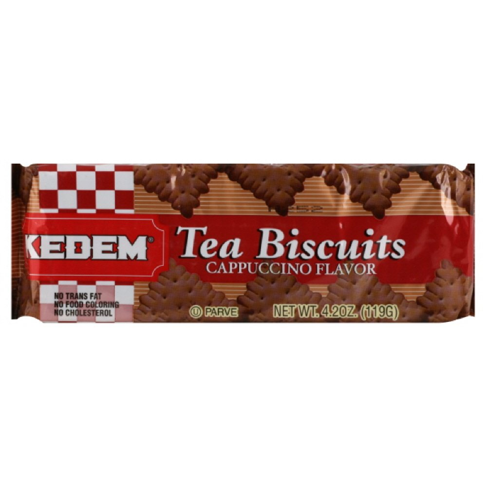 Kedem Tea Biscuits Cappuccino, 4.2-Ounce (Pack of 24)