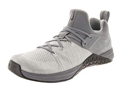 separation shoes aca3a 2b377 Nike Men s Metcon Flyknit 3 Cool Grey Black Training Shoe 8.5 Men US