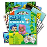bubble guppies sheets - Bubble Guppies Sticker Coloring Activity Set Bundled with Specialty Separately Licensed GWW Reward Sticker