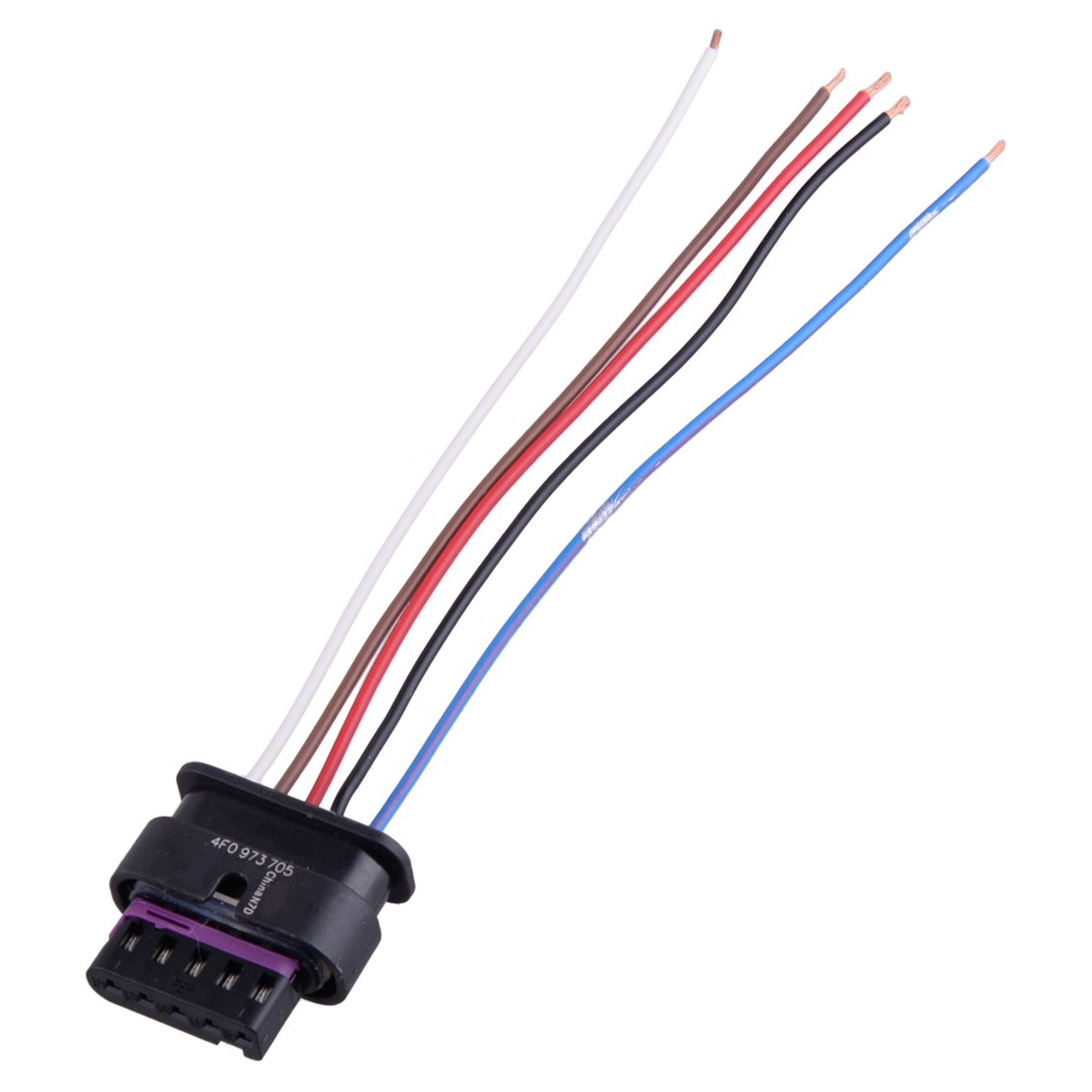 Beler Ambient Air Temperature Sensor Electrical 2 Pin Connector Wire Harness Plug Wiring Fit For