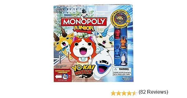 Monopoly - Junior Yokai Watch (Hasbro B6494105): Amazon.es: Juguetes y juegos