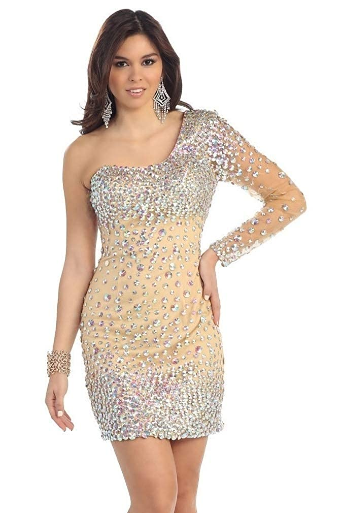 0b44c0652f761 well-wreapped Lady Bling Bling Damen Cocktailkleid Mini Etui Bodycon ...