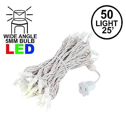 Amazon.com: Novedad 50 luz LED luces de Navidad Mini juego ...
