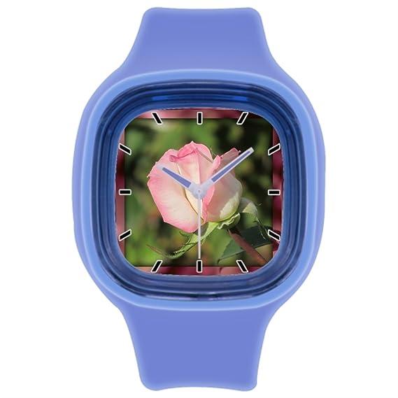 kosmore deporte Bud - Reloj de pulsera para hombre muñeca relojes Marcas azul: Amazon.es: Relojes