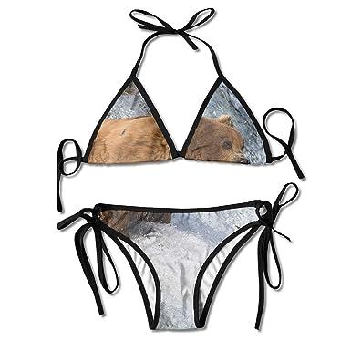 Bikinis, Bikini De Palmeras Y Piñas De Coco Traje De Baño De ...