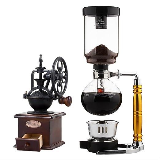 Manual de preparación de café de olla de sifón pot colgado en el ...