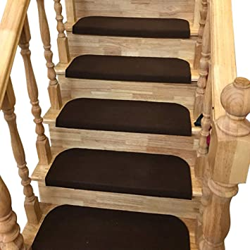 Berlin casa pura Tapis escalier Beige polypropyl/ène r/ésistant et Durable Lot de 15 pi/èces 25x65cm 3 Couleurs au Choix