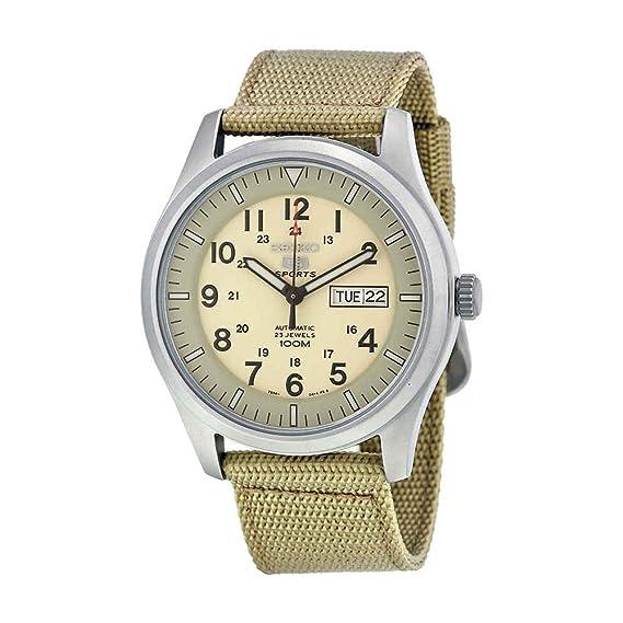 5a2d95325ba6 Seiko Reloj de Pulsera SNZG07K1  Amazon.es  Relojes