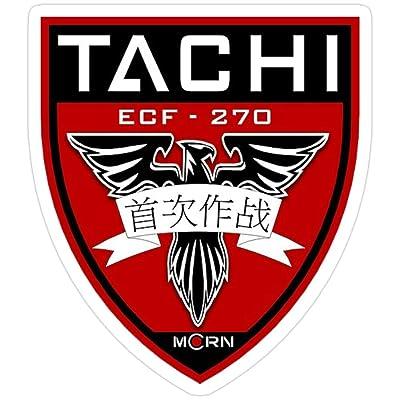 Vijk kor MCRN Tachi Stickers (3 Pcs/Pack): Kitchen & Dining
