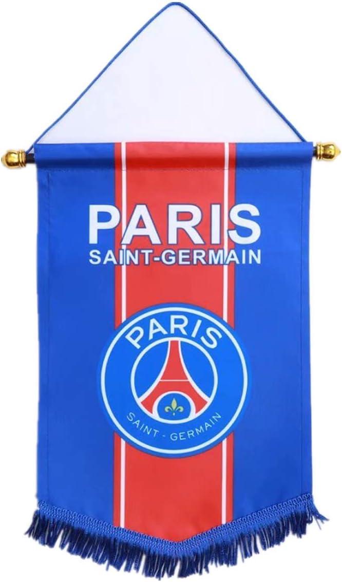 Football Club Flag Decoration Vertical Hanging Pentagon Flag for Bar Indoor Or Outdoor