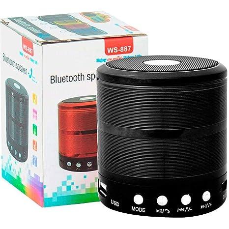 Demaco ws887 Portable Bluetooth Speaker Multicolour Speakers