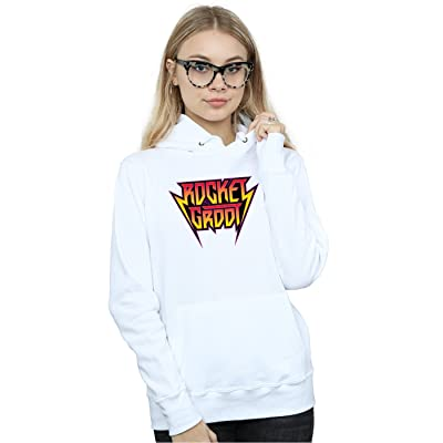 Marvel Femme Guradians of the Galaxy Vol. 2 Rocket and Groot Metal Logo Sweat À Capuche