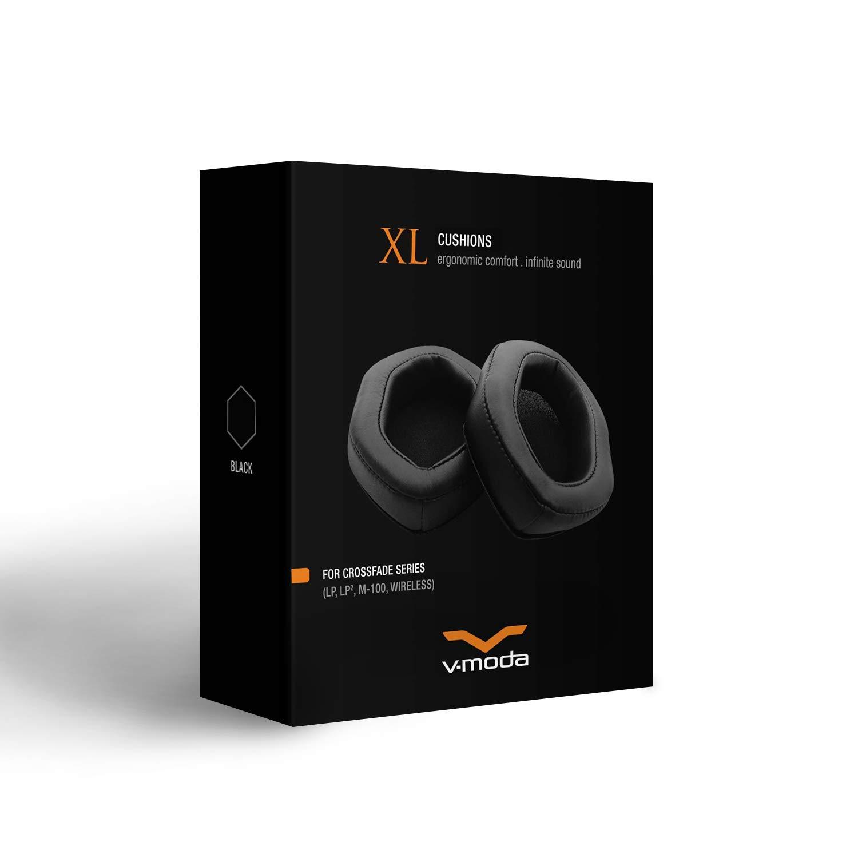 Black V-MODA XL Memory Cushions for Over-Ear Headphones