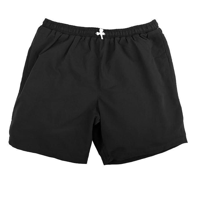 Abraxas Short de Baño Negro Jim Oversize, 2xl-8xl:2XL
