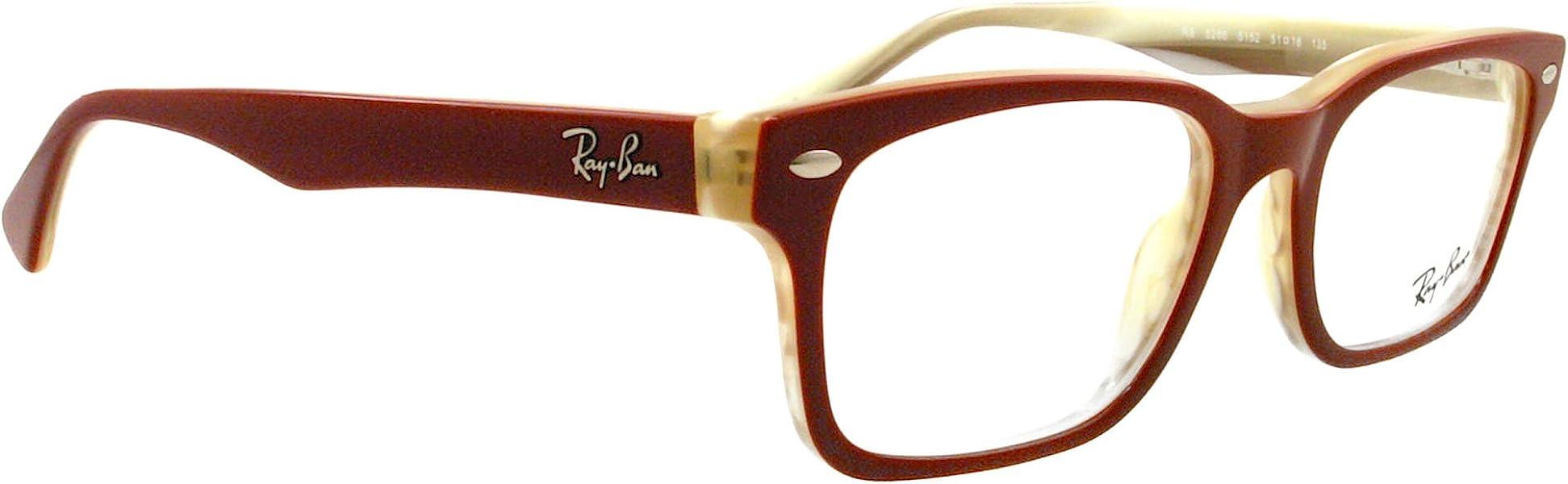 9fb23880b17 Amazon.com  Ray-Ban Eyeglasses RB 5286 RED 5152  Ray-Ban  Shoes