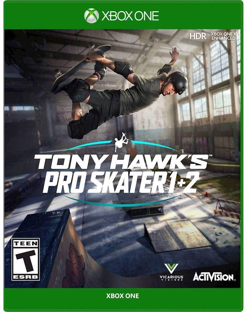 Tony Hawk's Pro Skater 1 + 2 - Xbox One: Activision Inc, Activision: Video Games